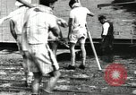 Image of Harvard 8 man crew participating in regatta on Thames River at New Lon New London Connecticut USA, 1900, second 14 stock footage video 65675063383