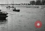 Image of Harvard 8 man crew participating in regatta on Thames River at New Lon New London Connecticut USA, 1900, second 44 stock footage video 65675063383