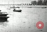Image of Harvard 8 man crew participating in regatta on Thames River at New Lon New London Connecticut USA, 1900, second 45 stock footage video 65675063383