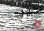 Image of Scenes from an annual Harvard and Yale rowing race on the Thames River New London Connecticut USA, 1900, second 1 stock footage video 65675063384