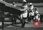 Image of Scenes from an annual Harvard and Yale rowing race on the Thames River New London Connecticut USA, 1900, second 22 stock footage video 65675063384