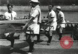Image of Scenes from an annual Harvard and Yale rowing race on the Thames River New London Connecticut USA, 1900, second 24 stock footage video 65675063384