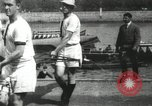 Image of Scenes from an annual Harvard and Yale rowing race on the Thames River New London Connecticut USA, 1900, second 26 stock footage video 65675063384