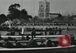 Image of Scenes from an annual Harvard and Yale rowing race on the Thames River New London Connecticut USA, 1900, second 48 stock footage video 65675063384