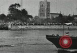 Image of Scenes from an annual Harvard and Yale rowing race on the Thames River New London Connecticut USA, 1900, second 53 stock footage video 65675063384