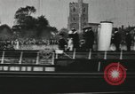 Image of Scenes from an annual Harvard and Yale rowing race on the Thames River New London Connecticut USA, 1900, second 55 stock footage video 65675063384