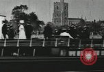 Image of Scenes from an annual Harvard and Yale rowing race on the Thames River New London Connecticut USA, 1900, second 56 stock footage video 65675063384