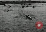 Image of Harvard and Yale crews race in their annual rowing competition in New  New London Connecticut USA, 1900, second 11 stock footage video 65675063385