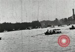 Image of Harvard and Yale crews race in their annual rowing competition in New  New London Connecticut USA, 1900, second 46 stock footage video 65675063385