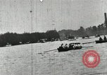 Image of Harvard and Yale crews race in their annual rowing competition in New  New London Connecticut USA, 1900, second 47 stock footage video 65675063385