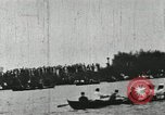 Image of Harvard and Yale crews race in their annual rowing competition in New  New London Connecticut USA, 1900, second 61 stock footage video 65675063385