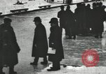 Image of Ice skating races outdoors on a flooded stadium ice rink during winter United States USA, 1900, second 16 stock footage video 65675063386