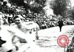 Image of Amateur runners compete in races at a stadium in the United States United States USA, 1900, second 4 stock footage video 65675063387
