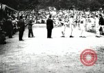 Image of Amateur runners compete in races at a stadium in the United States United States USA, 1900, second 24 stock footage video 65675063387