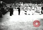 Image of Amateur runners compete in races at a stadium in the United States United States USA, 1900, second 27 stock footage video 65675063387
