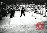 Image of Amateur runners compete in races at a stadium in the United States United States USA, 1900, second 28 stock footage video 65675063387