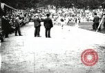 Image of Amateur runners compete in races at a stadium in the United States United States USA, 1900, second 35 stock footage video 65675063387