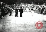 Image of Amateur runners compete in races at a stadium in the United States United States USA, 1900, second 36 stock footage video 65675063387