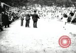 Image of Amateur runners compete in races at a stadium in the United States United States USA, 1900, second 37 stock footage video 65675063387