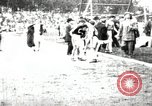 Image of Amateur runners compete in races at a stadium in the United States United States USA, 1900, second 41 stock footage video 65675063387