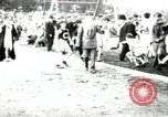 Image of Amateur runners compete in races at a stadium in the United States United States USA, 1900, second 42 stock footage video 65675063387