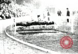 Image of Amateur runners compete in steeplechase race with obstacles United States USA, 1900, second 12 stock footage video 65675063388