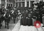Image of King Edward VII and Queen Alexandra are guests of Greek King George I  Athens Greece, 1906, second 1 stock footage video 65675063389