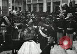 Image of King Edward VII and Queen Alexandra are guests of Greek King George I  Athens Greece, 1906, second 9 stock footage video 65675063389