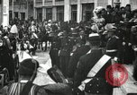 Image of King Edward VII and Queen Alexandra are guests of Greek King George I  Athens Greece, 1906, second 22 stock footage video 65675063389