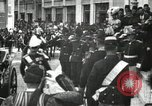 Image of King Edward VII and Queen Alexandra are guests of Greek King George I  Athens Greece, 1906, second 23 stock footage video 65675063389