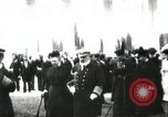 Image of King Edward VII and Queen Alexandra are guests of Greek King George I  Athens Greece, 1906, second 34 stock footage video 65675063389