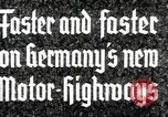 Image of highway construction Germany, 1936, second 4 stock footage video 65675063400