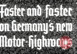 Image of highway construction Germany, 1936, second 5 stock footage video 65675063400