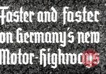 Image of highway construction Germany, 1936, second 8 stock footage video 65675063400