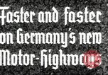 Image of highway construction Germany, 1936, second 9 stock footage video 65675063400