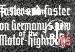 Image of highway construction Germany, 1936, second 10 stock footage video 65675063400