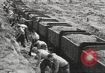 Image of highway construction Germany, 1936, second 54 stock footage video 65675063400