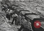 Image of highway construction Germany, 1936, second 58 stock footage video 65675063400