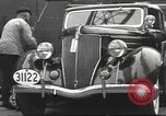 Image of road network Germany, 1936, second 33 stock footage video 65675063402