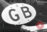 Image of road network Germany, 1936, second 37 stock footage video 65675063402