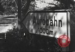 Image of road network Germany, 1936, second 56 stock footage video 65675063402
