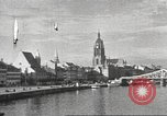 Image of road network Frankfurt Germany, 1936, second 32 stock footage video 65675063403