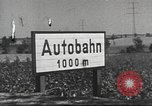 Image of road network Frankfurt Germany, 1936, second 38 stock footage video 65675063403