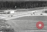 Image of road network Frankfurt Germany, 1936, second 55 stock footage video 65675063403