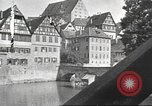 Image of road network Stuttgart Germany, 1936, second 20 stock footage video 65675063404