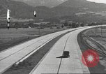 Image of road network Stuttgart Germany, 1936, second 52 stock footage video 65675063404