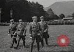 Image of German officer Germany Bavarian Alps, 1938, second 17 stock footage video 65675063408