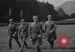 Image of German officer Germany Bavarian Alps, 1938, second 18 stock footage video 65675063408