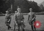Image of German officer Germany Bavarian Alps, 1938, second 19 stock footage video 65675063408