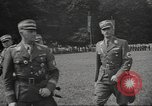 Image of German officer Germany Bavarian Alps, 1938, second 22 stock footage video 65675063408